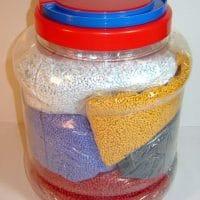 Крышки для банок из пластика
