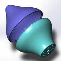 3D-модель навершия флагштока